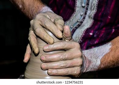 ceramic hand made