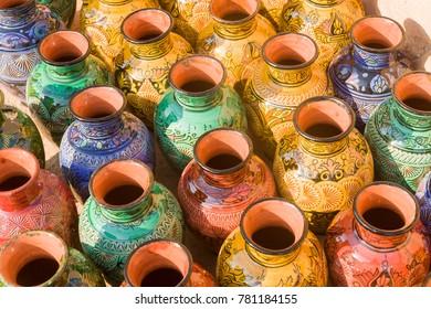 Ceramic pots at Safi, Morocco