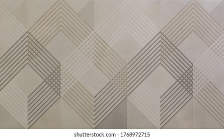 ceramic tile with abstract mosaic geometric pattern - Shutterstock ID 1768972715