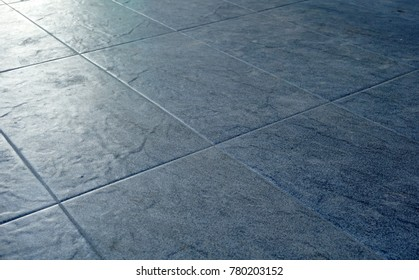 Ceramic Tile Floor Texture And Background