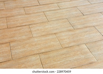 ceramic tiles beige colour on the floor