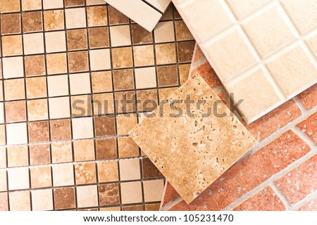 Ceramic Tiles Different Types Cuisine Stock Photo Edit Now
