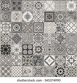 Ceramic Tiles Patterns Portugal Stock Photo (Royalty Free) 347325746 ...