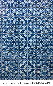 Ceramic tiles patterns from Portugal Azulejos