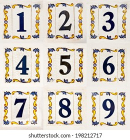 House Number Images Stock Photos Vectors Shutterstock - Ceramic street numbers