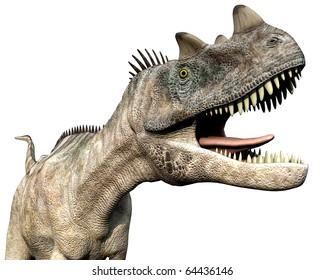 ceratosaurus long tale