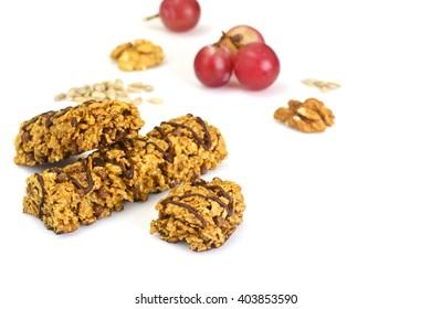 Cereal Bars, Muesli, Fitness, Nuts, Seeds Studio Photo