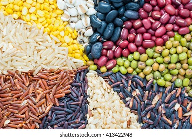 Cereal grains ,seeds, beans