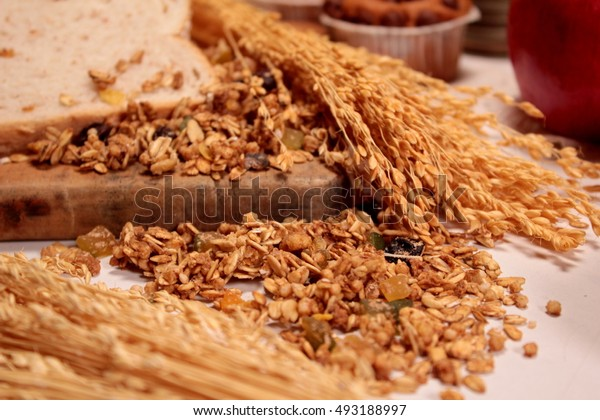 cereal grains, whole wheat bread recipe and fruits