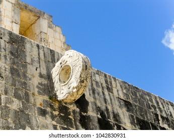Ceremonial Mayan Ball Game Hoop