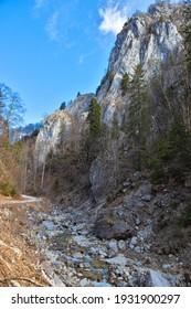 Cerna mountain valley, near Horezu town, in Valcea county, Romania - Shutterstock ID 1931900297
