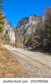 Cerna mountain valley, near Horezu town, in Valcea county, Romania - Shutterstock ID 1931900306