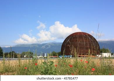 CERN,high energy laboratory - Shutterstock ID 45781477