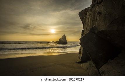 Cerro Colorado beach, Lima - Peru