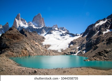 Cerro Fitz Roy with the most beautiful weather possible