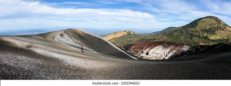 Cerro Negro Volcano in Nicaragua.