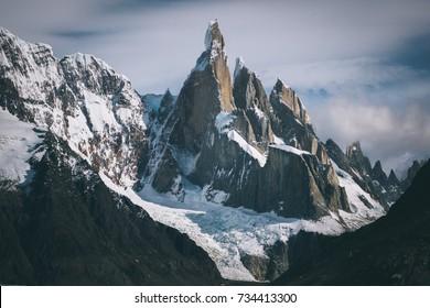 Cerro Torre Peak in Patagonia