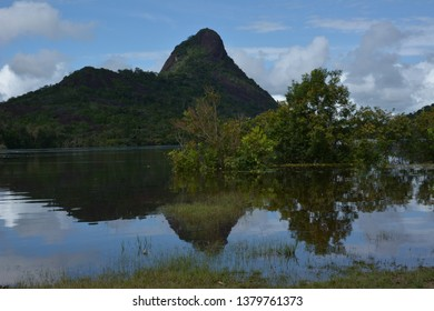 The Cerros de Mavicure or Mavecure are a set of three Monoliths located in the south-east of Colombia, more specifically 50 km south of the city of Inírida, on the homonymous river.