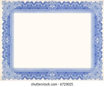 Certificate Border (scan)
