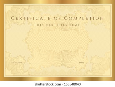 blank certificate of completion template muco tadkanews co