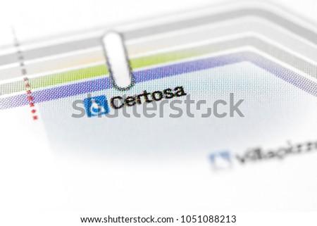 Milan Subway Map.Certosa Station Milan Metro Map Stock Photo Edit Now 1051088213