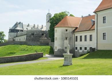 Cerveny Kamen medieval castle in Slovakia