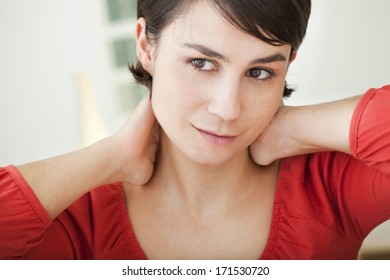 Cervicalgia In A Woman