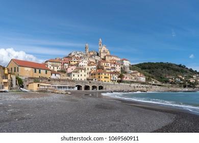 Cervo, Medieval village, Province of Imperia, Liguria region of Italy