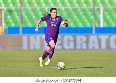 Cesena, Italy, October 27 2019 alia guagni (fiorentina women's) during Juventus vs Fiorentina Women´s Italian Supercup Football Women