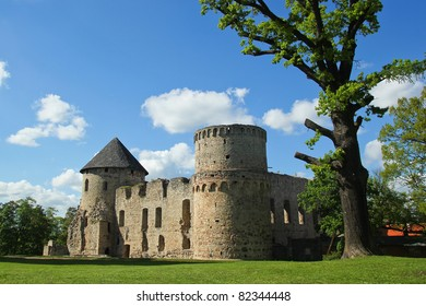 Cesis Castle is a Livonian castle situated in C?sis, Latvia.