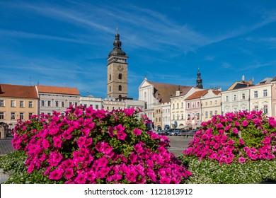 Ceske Budejovice, Czech Republic, Southern Bohemia, Budweis, Europe, 16. September 2015