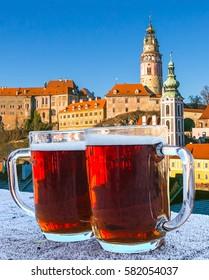 Cesky Krumlov beer