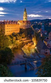 Cesky Krumlov,the most beautiful towm in Czech.