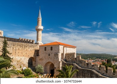 CESME / TURKEY - MAY 2015: Medieval Ottoman fortress in Cesme, Turkey
