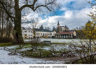 Cesnovice Castle in the Czech Republic