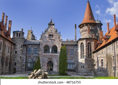 Cesvaine Palace was built in 1896 for the German baron Emil von Wulf in the late Tudor Neo-Renaissance style. This palace is located in city of Cesvaine in Latvia.