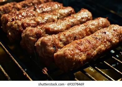 Cevapi on barbecue
