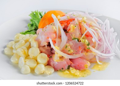 Ceviche, dish symbol of Peruvian gastronomy.