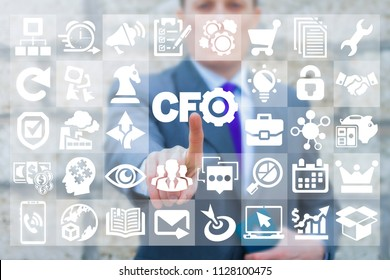 CFO - Chief Financial Officer. Success Leadership Business Finance concept.