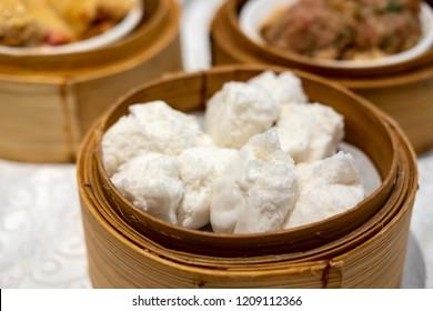 Cha siu bao is a Cantonese barbecue-pork-filled bun