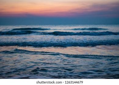 Cha-am Beach Petbure, Thailand.
