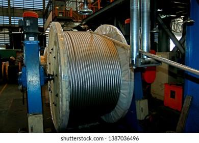 Aluminum Wire Reel Images, Stock Photos & Vectors | Shutterstock