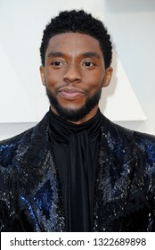 Chadwick Boseman at the 91st Annual Academy Awards held at the Hollywood and Highland in Los Angeles, USA on February 24, 2019.