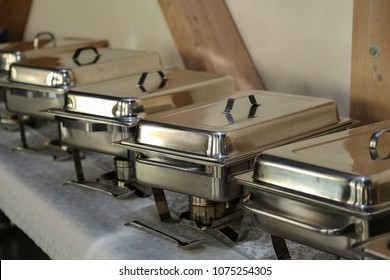 Chafing Dish in a restaurant