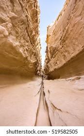 Chahkooh Canyon on Qeshm island in Iran