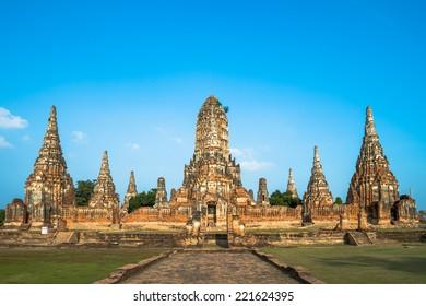 Chai Watthanaram temple, Ayutthaya, Thailand