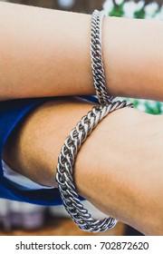 chain bracelets men luxury fashion with hand