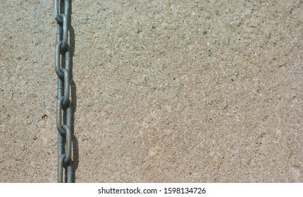 chain and concrete heavy metal construction industrial background