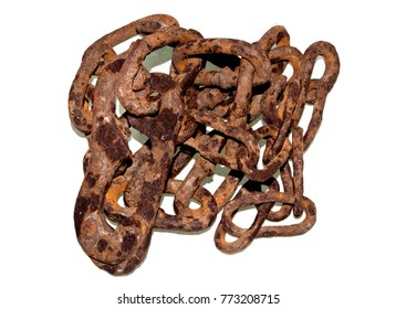 chain isolated on white background