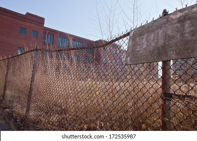 Broken Chain Link Fence Images, Stock Photos & Vectors